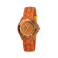 TIKKERS KDZ ORANGE RUBBER STRAPWATCH