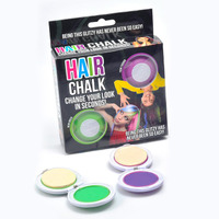 LUVELY HAIRCHALK 1 (green & purple)