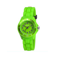 TIKKERS KDZ GREEN RUBBER STRAPWATCH