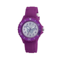 TIKKERS GLS PURPLE RUBBER STRAPWATCH