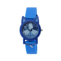 TIKKERS  BLUE DOG FACE STRAPWATCH