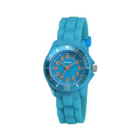 TIKKERS TEAL RUBBER STRAPWATCH