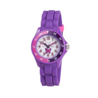 TIKKERS GLS PURPLE BUTTERFLY STRAPWATCH